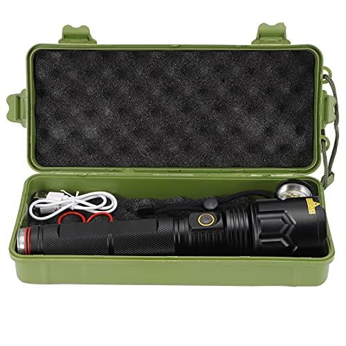 Blantye Fuerte Linterna LED 20000LM USB Cargando P70 Lámpara de Perla para el hogar Camping Senderismo Emergencia de Ciclismo al Aire Libre