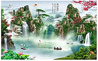 Landscape Painting Living Room Decoration Painting Feng Shui Back to The Mountain Zhaocai Sofa Wall Painting Chinese Painting Landscape Company Office Paintings