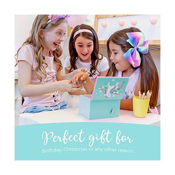 Amitié Lane Unicorn Jewelry Box For Girls - Two Unicorn Gifts For Girls Plus Augmented Reality App (STEM Toy) - Unicorn… 9