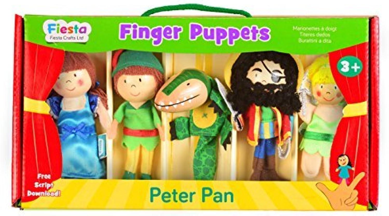 encuentra tu favorito aquí Tellatale Peter Pan Finger Puppet Puppet Puppet Set by Tellatale  muchas sorpresas