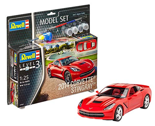 Revell Model Set- Revell Voiture, 67060, Jaune