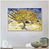 Olive Tree by Van Gogh Canvas Wall Art Printon Canvas Wall Art for Bedroom Living-Frameless painting80x104cm