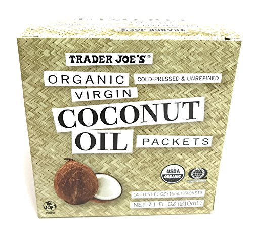 Trader Joe Organic Virgin Coconut Oil Packets
