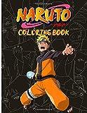 Naruto Coloring Book: Crayola Coloring Books For Adults Naruto