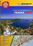 France 2020 - A3 Tourist & Motoring Atlas: Tourist & Motoring Atlas A4 spiral (Michelin Road Atlases)
