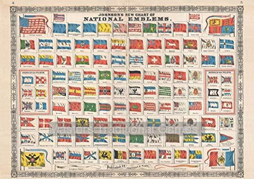 Piatnik National Flags 1000 Piece Jigsaw Puzzle by