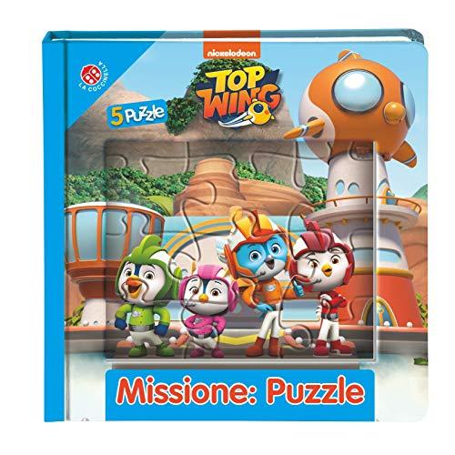 Missione: puzzle. Top wing. Libro puzzle. Ediz. a colori