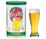 Coopers Lager Home Brew Beer Kit - Makes 40 Pints!