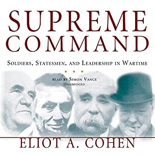 Supreme Command audiobook cover art