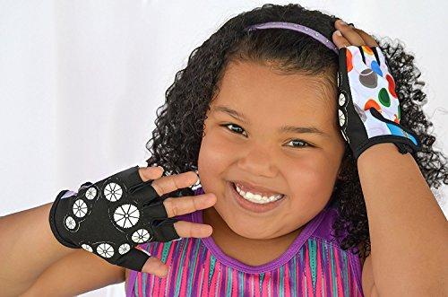 HANG Monkey Bars Handschuhe für Kinder (7 und 8 Jahre) mit Griffkontrolle