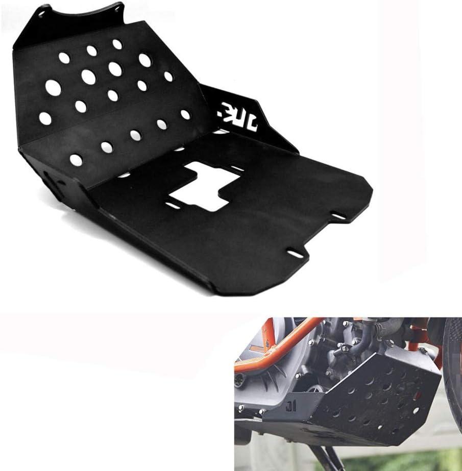 NIUNIUTU Aluminum Motorcycle Engine Guard Protector Skid Plate for ...
