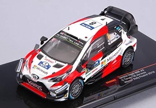 per TOYOTA YARIS WRC N.8 WINNER FINLAND RALLY 2018 TANAK-JARVEOJA 1:43 - Ixo Model - Auto Rally - Die Cast - Modellino