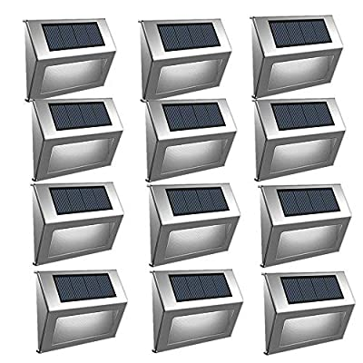 Anxus Solar Powered Motion Sensor Light with 60 LED Solar Lights, with 9600mAh Lithium Battery,Wireless Waterproof LED Security Lights with 3 Modes for Garden, Patio, Yard, Driveway,etc