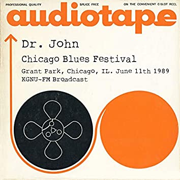 Chicago Blues Festival, Grant Park, Chicago, IL. June 11th 1989 KGNU-FM Broadcast