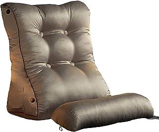 Coussins de lecture Oreillers lombaires oreiller triangle, arrière-plan lombaire oreiller oreiller zippée amovible lavable...