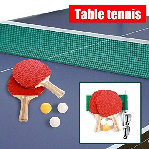 Buy Isaa Miilne Indoor Games Sport Portable Table Tennis Net Bracket Ping-Pong Paddles Kit Set