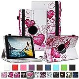 NAUC Tablet Schutzhülle für Medion Lifetab P8912 Hülle Tasche Standfunktion 360° Drehbar Cover Universal Case, Farben:Motiv 6