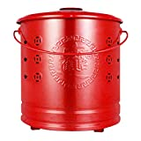 QILIN Incinerator, Stainless Steel Fire Bucket with Pattern, Used to Burn Leaves, Paper and Wood Trash Burning Bucket, Three Colors, Four Sizes