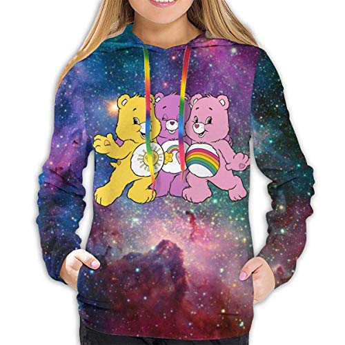 EYSKJ Hoodie Care Bears Women Pullover Kapuzenpullover 3D Printed Sweatshirt Long Sleeve Hooded