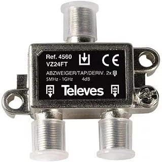 Amazon.es: conectores antena tv - Televés