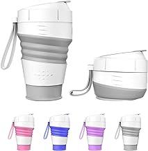 9.22oz 2packs Set Generic Silicone Folding Cup//Mug Travel Outdoor Camping Hiking-BPA Free