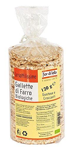 Fior di Loto Gallette di Farro - 120 gr