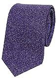 【D'URBAN】ダーバン イタリア製 シルクネクタイ 紫