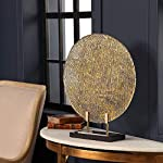 Uttermost-Layan-21-High-Gold-Rippled-Art-Glass-Charger-with-Stand