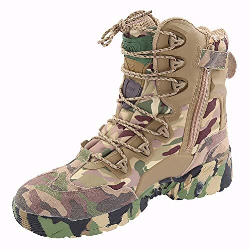 Botas de Senderismo Zapatillas de Tenis Antideslizantes de Trekking para Hombres Botas de Pirata de Caza Trekking Zapatos de Trekking Impermeables Mejor Regalo