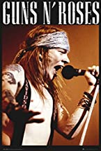 Guns N' Roses - Music Poster/Print (Axl Rose - Live On Stage) (Size: 24 inches x 36 inches)