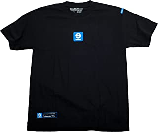 Sparco SP01600NR4XL TACH XL Black T-Shirt