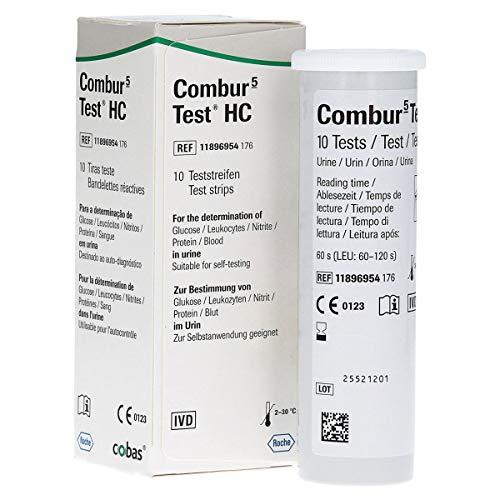 COMBUR 5 TEST HC Teststreifen, 10 St