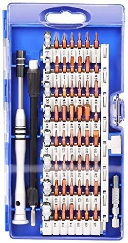 Cacciavite di Precisione, Set Cacciaviti Precisione Proffesionale 60 in 1 Kit Cacciaviti di Riparazione per Occhiali, Smartphone, iPhone, iPad, Tablet, Cellulare, PC, Laptop, Elettronica