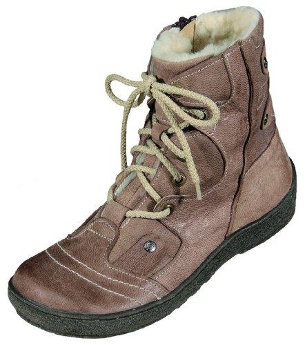 MICCOS Shoes Stiefel Nappaleder, RV, Warmfutter 100% Polyester, TR-Sohle in t.d.Moro, Größe 41.0,