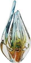 Escultura Em Cristal Murano Água Marinha - São Marcos
