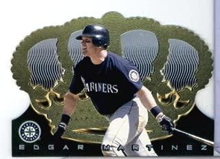 1999 Pacific Crown Royale Baseball Card # 129 Edgar Martinez Seattle Mariners