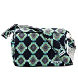 Ju-Ju-Be Messenger Bag - Wickeltasche -Better Be - blaue Blumen