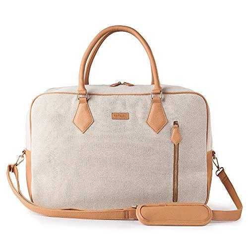 Travel Duffel Tote Bag for Women/Ladies,Overnight Carry on Weekender Shoulder Bag with Shoulder Strap