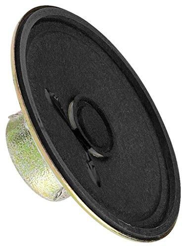 MONACOR SP-21/4RDP Miniatur-Einbaulautsprecher, 8 Ohm
