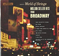 Carlini's World Of Strings: Million Seller Hits From Broadway LP NM Canada Arc