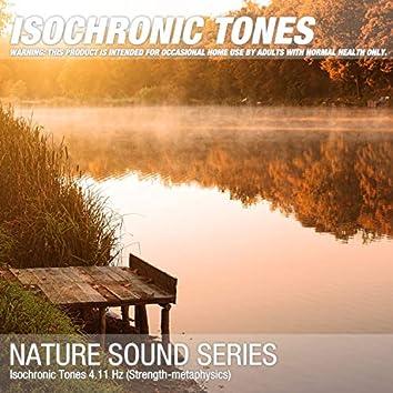 Isochronic Tones 4.11 Hz (Strength-metaphysics)