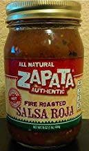 Zapata Fire Roasted Salsa Red Hot 16 OZ (Pack of 6)