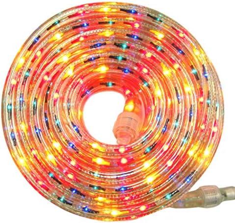 Flexilight Rope Light 12Ft 18Ft 24Ft 30Ft 110V 120V 2 Wire 1 2 Incandescent Bulbs Extendable product image