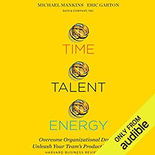 Time, Talent, Energy audiobook cover art