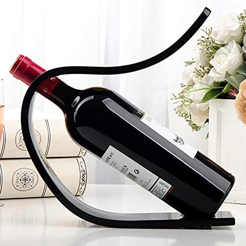Wijnrek Acryl wijn display stand wijn display rekken supermarkt winkelcentra