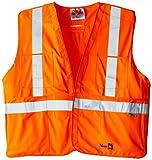 Viking FR Flame Resistant Reflective Vest, Orange, Large/X-Large