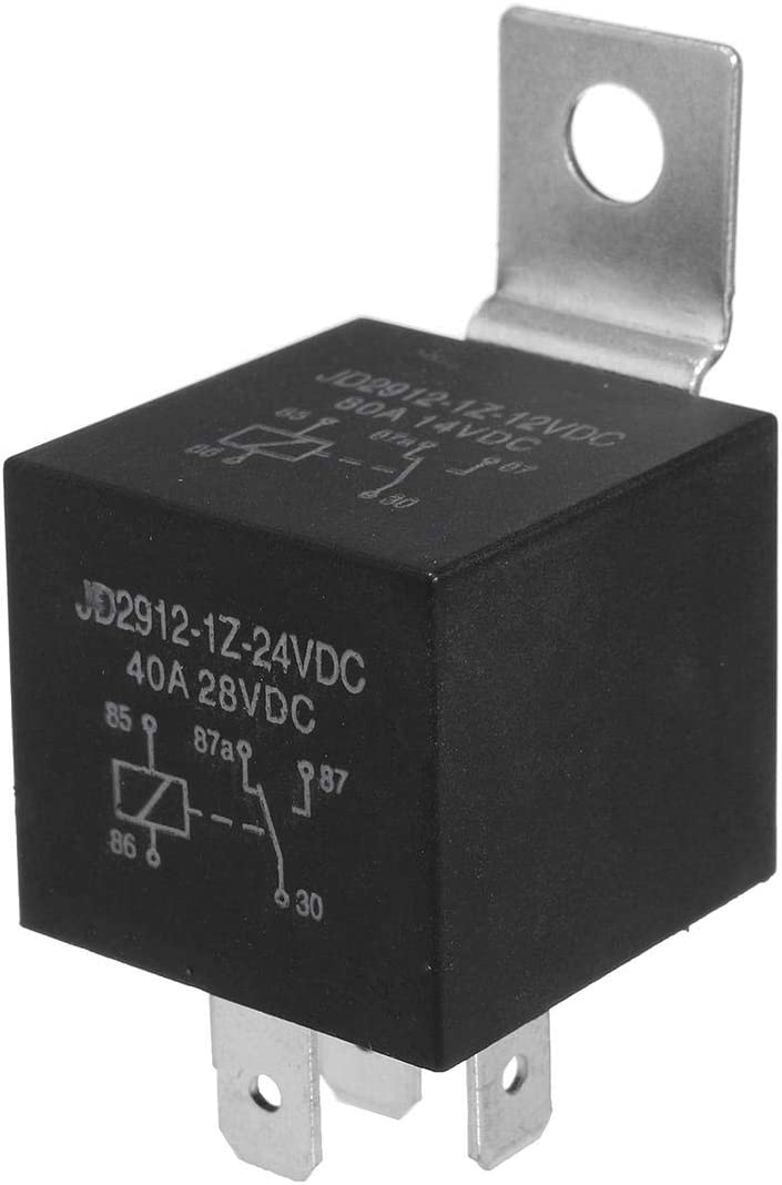 Cheap super special price DFYYQ 24V Detachable Bracket Resistor Selling rankings 5 Auto Car Pins Relay 20A