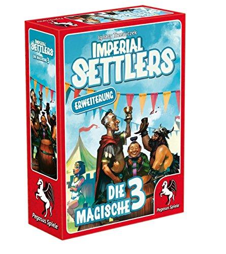 Pegasus Spiele 51965G - Imperial Settlers Die magische 3