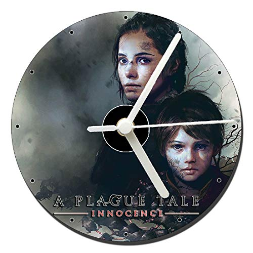 MasTazas A Plague Tale Innocence Tischuhren CD Clock 12cm