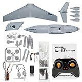 C17 Avions De Transport 373mm Envergure EPP RC Drone Avion 2.4GHz 2CH 3 Axes DIY Avions pour Enfants Jouet